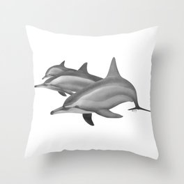 Come in Spinners Throw Pillow