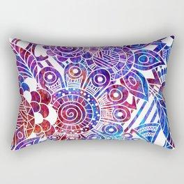 Mythical Doodle Rectangular Pillow