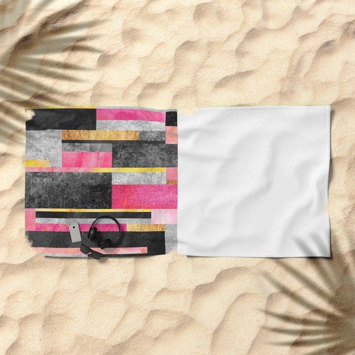 Big City Girl Beach Towel
