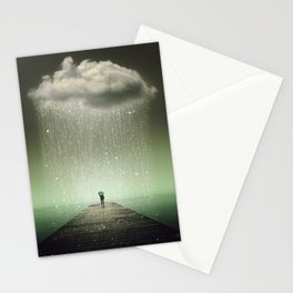Weathering the Storm II Stationery Cards