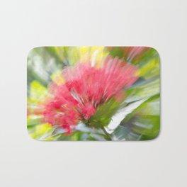 Flower Burst - Electric Magenta Bath Mat