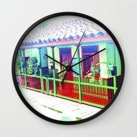 colombia Wall Clocks featuring Colombia Coffee Park. by Alejandra Triana Muñoz (Alejandra Sweet