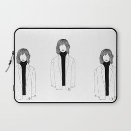 La fille sans visage °2° Laptop Sleeve