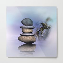 balance -2- Metal Print