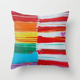 Flags for the Future 10 Throw Pillow