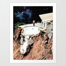 Space Junk Art Print