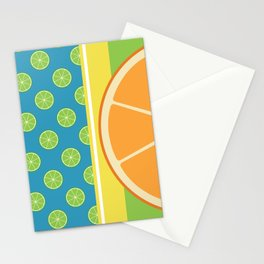 Summer Citrus Party Stationery Cards