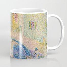 """Henri-Edmond Cross """"Ponte Moro, Rio Grimani (Venise)"""" Coffee Mug"""