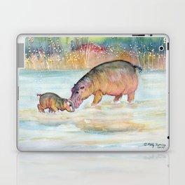 Hippopotamus Laptop & iPad Skin