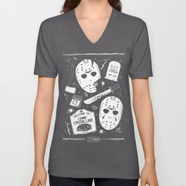 Welcome to Camp Crystal Lake! Unisex V-Neck