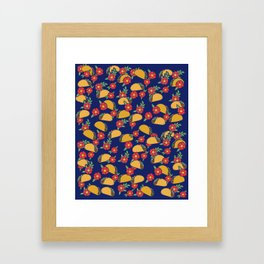 Taco Lovers Fiesta Framed Art Print