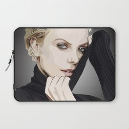 "Charlize Theron ""Rotoscoping"" Laptop Sleeve"