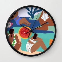 Fruity Bay Wall Clock