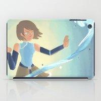 legend of korra iPad Cases featuring [Legend of Korra] Water by samarasketch