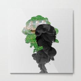 SVT - Jeonghan Smoke Effect Metal Print