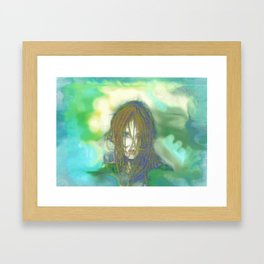 Smoke and Dreams Framed Art Print