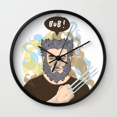 BUB! Wolverine / Logan Wall Clock