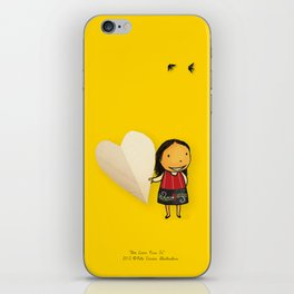 Share your Heart iPhone Skin