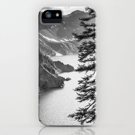 Forest Lake Retreat - Crater Lake iPhone Case