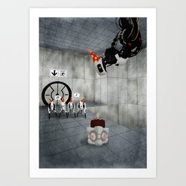 Glados' Birthday Art Print