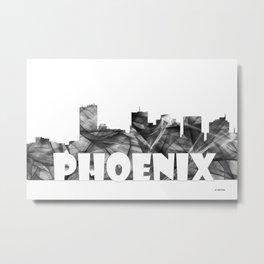 Phoenix Skyline BG2 Metal Print