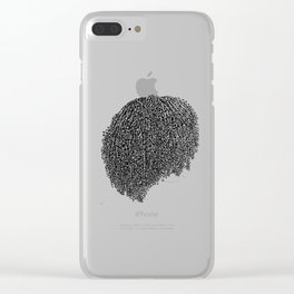 Coil Out Clear iPhone Case