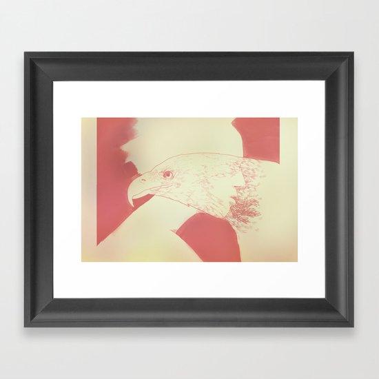 """Once I Was an Eagle"" by Justin Hopkins Framed Art Print"