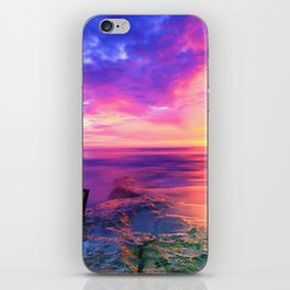 Sunset in Paradise (Color) iPhone Skin