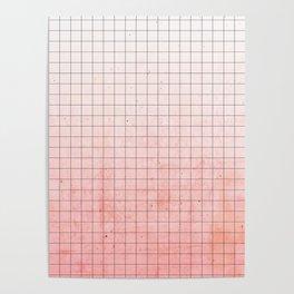 Sweet Pink Geometry Poster