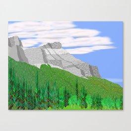 Mount Rundle (North Peak) Canvas Print