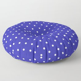 Dotted (White & Navy Pattern) Floor Pillow