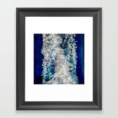 Frozen Beauty Framed Art Print