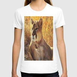 The Golden Thinker 🐾 Cougar 🐾 T-shirt