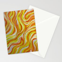Soaked in Gold Stationery Cards