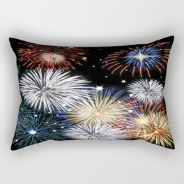 Grand Finale Firework Show Rectangular Pillow