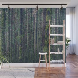 forest landscape photography tree background - trees vintage style Wall Mural
