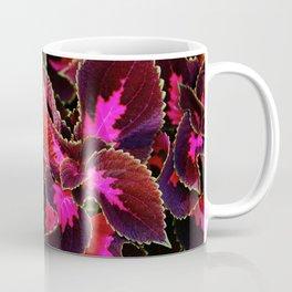 Intricate Coleus Design Coffee Mug