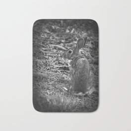 Watchful Bunny Bath Mat