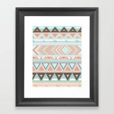 Tribal Wonder  Framed Art Print
