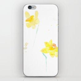 Daffodils 2 iPhone Skin