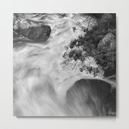 Wild Water. Into The Mountains Metal Print