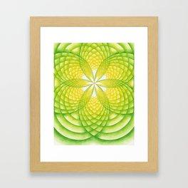Light Seed Framed Art Print