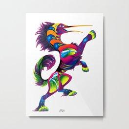 Oaxacan Hummingbird Hound Metal Print