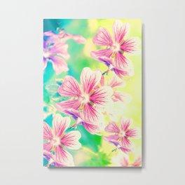 Fresh Spring Flowers Metal Print