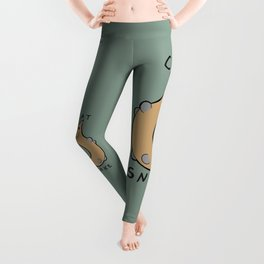 Cat Snake II Leggings