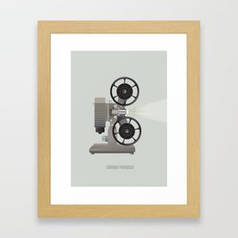 Cinema Paradiso Framed Art Print