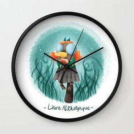 Laure Nithorynque Wall Clock