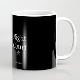 Night Court Characters Print Coffee Mug