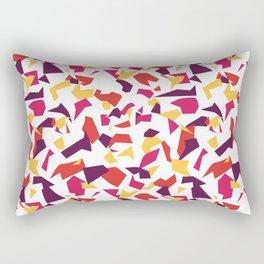 Bold 80's Terrazzo Rectangular Pillow