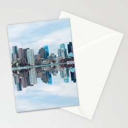 Boston reflection Stationery Cards